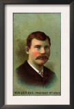 St. Louis, MO, St. Louis Browns, Chris Von Der Ahe, Baseball Card Poster