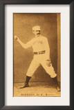 Boston, MA, Boston Beaneaters, Black Jack Burdock, Baseball Card, no.3 Posters