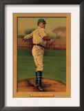 Brooklyn, NY, Brooklyn Dodgers, Nap Rucker, Baseball Card Art