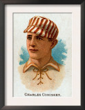 St. Louis, MO, St. Louis Browns, Charles Comiskey, Baseball Card Poster