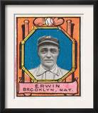 Brooklyn, NY, Brooklyn Dodgers, Tex Erwin, Baseball Card Prints
