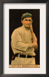 Brooklyn, NY, Brooklyn Dodgers, Herbert Northen, Baseball Card Prints