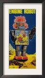 Engine Robot Print