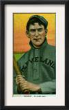 Cleveland, OH, Cleveland Naps, Nap Lajoie, Baseball Card Poster