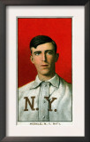 New York City, NY, New York Giants, Fred Merkle, Baseball Card Poster