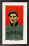 Cleveland, OH, Cleveland Naps, Ted Easterly, Baseball Card Print