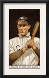 Cleveland, OH, Cleveland Naps, John B. Adams, Baseball Card Art