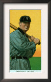Detroit, MI, Detroit Tigers, Sam Crawford, Baseball Card Poster