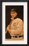 Cleveland, OH, Cleveland Naps, Vean Gregg, Baseball Card Art