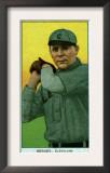 Cleveland, OH, Cleveland Naps, Heinie Berger, Baseball Card Prints