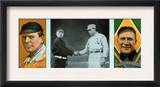 Detroit, MI, Detroit Tigers, John J. McGraw, Hugh Jennings, Baseball Card Prints