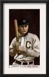 Cleveland, OH, Cleveland Naps, Terence Turner, Baseball Card Print