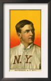 New York City, NY, New York Giants, Christy Mathewson, Baseball Card Art
