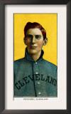 Cleveland, OH, Cleveland Naps, George Perring, Baseball Card Art