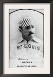 St. Louis, MO, St. Louis Browns, Bill Gleason, Baseball Card Prints