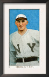 New York City, NY, New York Giants, Buck Herzog, Baseball Card Print