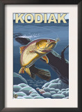 Kodiak, Alaska - Cutthroat Trout Cross-Section Prints
