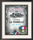 Vin De Bordeaux Wine Label - Europe Print