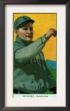 Cleveland, OH, Cleveland Naps, Rhoades, Baseball Card Poster