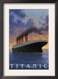 Titanic Scene - White Star Line Prints