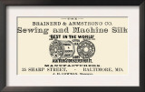 Brainerd and Armstrong Co. Sewing and Machine Silk Art