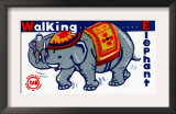 Walking Elephant Prints