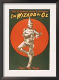 """The Wizard of Oz"" Musical Theatre Poster No.2 Prints"