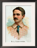 St. Louis, MO, St. Louis Browns, R. L. Caruthers, Baseball Card Prints