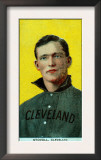 Cleveland, OH, Cleveland Naps, George Stovall, Baseball Card Posters