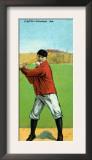 Cleveland, OH, Cleveland Naps, Napoleon Lajoie, Baseball Card Art