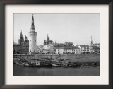 View of the Kremlin and the Moscow River Photograph - Moscow, Russia Poster