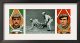 St. Louis, MO, St. Louis Browns, R. J. Wallace, Frank LaPorte, Baseball Card Poster