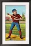 St. Louis, MO, St. Louis Browns, Sam Barkley, Baseball Card Print