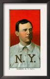 New York City, NY, New York Giants, John McGraw, Baseball Card Posters