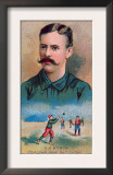 Brooklyn, NY, Brooklyn Dodgers, E. A. Burch, Baseball Card Prints