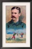 Brooklyn, NY, Brooklyn Dodgers, E. A. Burch, Baseball Card Prints