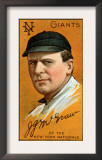 New York City, NY, New York Giants, John J. McGraw, Baseball Card Posters