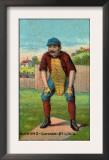 St. Louis, MO, St. Louis Browns, Doc Bushong, Baseball Card Posters