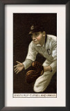 Cleveland, OH, Cleveland Naps, Ted Easterly, Baseball Card Prints