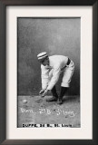 St. Louis, MO, St. Louis Browns, Duffe, Baseball Card Prints