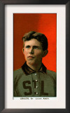 St. Louis, MO, St. Louis Browns, Lou Criger, Baseball Card Posters