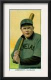 Cleveland, OH, Cleveland Naps, Glenn Liebhardt, Baseball Card Art