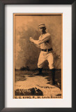 St. Louis, MO, St. Louis Browns, Silver King, Baseball Card Print