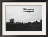 Orville Wright on Flight 41 at 60 foot high Photograph - Dayton, OH Prints