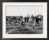 Yale Footbal Practice Photograph - New Haven, CT Poster