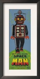Mechanical Walking Spaceman Prints