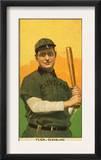 Cleveland, OH, Cleveland Naps, Elmer Flick, Baseball Card Prints