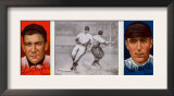 New York City, NY, New York Giants, Lawrence Doyle, Fred Merkle, Baseball Card Posters