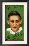 New York City, NY, New York Giants, George H. Schlei, Baseball Card Art