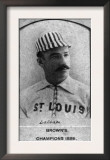 St. Louis, MO, St. Louis Browns, W. Latham, Baseball Card Posters